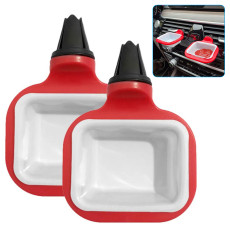 2 pcs Sauce Holder for Car, Removable Car Sauce Holders Stand Dip Clip, Dipping Sauce Cups Ketchup Rack