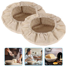 6 Packs Round Bread Proofing Basket Cloth Liner, Sourdough Banneton Proofing Cloth, Rattan Baking Dough Basket Cover