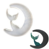 Crescents Moon Silicone Epoxy Mold, Crystal Epoxy Resin Mold, Handmade DIY Crafts Making Tool
