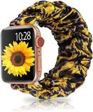 Scrunchie Elastic Apple Watch Straps,  Watch Bands for Apple Watch Series 5/4/3/2/1, 38/40mm, 42/44mm