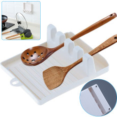 Multifunctional Silicone Spatula Pad, Kitchen Spoon Pad Spatula Shelf, Tableware Storage Rack Kitchen Rack
