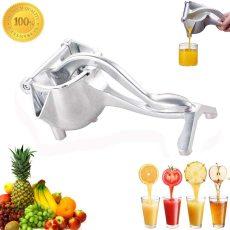 Aluminum Alloy manual juicer, Metal Manual Fruit Squeezer Juice Squeezer, Lemon Orange Juicer Press