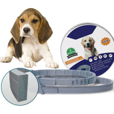 Flea and Tick Collar for Cats, 8-month Dog Flea Collars, Insect Mosquitoes Repellent Flea & Tick Collar
