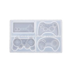 Game Controller Silicone Resin Molds, Cake Fondant Mold, Silicone Molds for DIY Mini Keychain or Baking