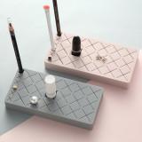 18 Grid Lipstick Storage Box, Makeup Organizer Display Stand, Make-up Brush Eyebrow Pencil Holder
