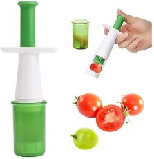 Grape Cutter for Kids, Cherry Tomato Slicer for Baby, Multifunctional Cut Tools of Vegetable and Fruit