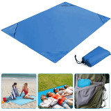 Magic Sand Free Beach Mat, Waterproof Camping Picnic Large Mat,  Lightweight Sand Free Blanket