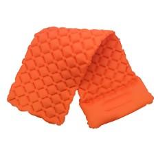 Camping Sleeping Pad, Inflatable TPU Sleeping Pad With Pillow, Outdoor Air Mattress Sleeping Mat