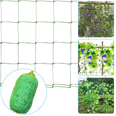 Plant Trellis Netting, Heavy-Duty Polypropylene Netting for Vine Plant, Plant Climbing Support Netting