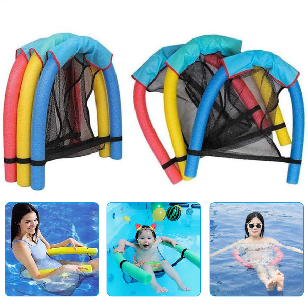 Swimming Pool Lounge, Water Floating Chair Swimming Stick, Floating Bed Suitable for Adults