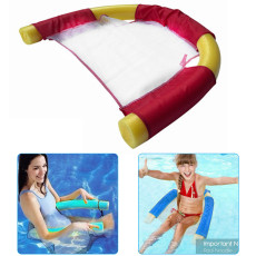 Sling Mesh Chair for Swimming Pool, Swimming Floating Chair, Noodle Sling Floating Chair for Kids Adults