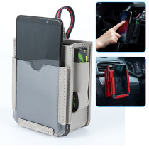 Multifunctional Car Pocket, Car Air Vent Storage Bag, Automotive Air Vent Mobile Phone Storage Pouch