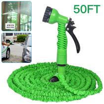 Expandable Garden Hose Spray Gun, High-Pressure Water Gun for Car Wash, Garden Watering Gun
