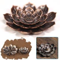 Brass Lotus Censer Stick, Incense Burner Ash Catcher, Incense Holder Home Fragrance Accessories