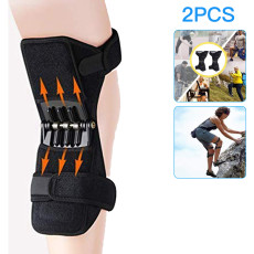 Knee Protection Booster, Power Support Knee Pads, Protective Sports Knee Stabilizer Pads Rebound Spring Force