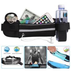 Waterproof Running Waist Bag, Running Belt Water Resistant Waist Bags, Workout Exercise Pocket