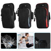 Armband for Running Workout, Waterproof Phone Pouch for Running, Universal Sports Arm Band Running