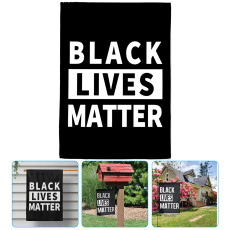 Black Lives Matter Flag, Garden House Home Decor Flags, 15.7'' x 23.6'' Outdoor Decor Yard I Can't Breathe
