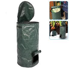 Collapsible Trash Can, Garden Depot Pop Up Leaf Trash Can, Organize Bag Garden Yard Compost Bag