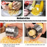 stainless steel corn cob stripper- corn peeler- wtowin.com