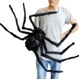 halloween spider- black spider halloween decoration- wtowin.com