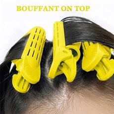 4pcs Natural Fluffy Hair Clip, Hair Roots Fluffy Clip Hair Curler Clips, Women Wave Fluffy Clip DIY Hair Stying Tools