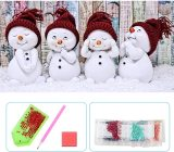 5D DIY Christmas Diamond Painting, Full Drill Diamond Rhinestone Painting Kits, Diamond Arts Craft