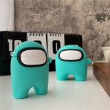 3D Among Us airpods pro protective cover Apple wireless bluetooth silicone case