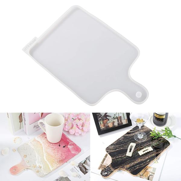 Resin Silicone Molds Tray Molds DIY Home Decoration Arts