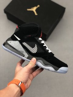 Nike Air Jordan Mars 270 Black Metallic Athletic Shoes