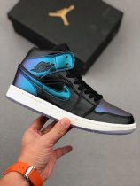 Nike Air Jordan 1 Mid Iridescent Sneakers
