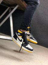 Nike Air Jordan 1 Retro High Not For Resale Varsity Maize Sneakers