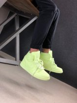 Nike Air Jordan 1 High Retro Sneakers Barely Volt