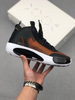 Nike Air Jordan 34 PE Basketball Shoes Amber Rise