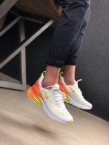 Nike Air Max 270 Running Shoes White Gradient