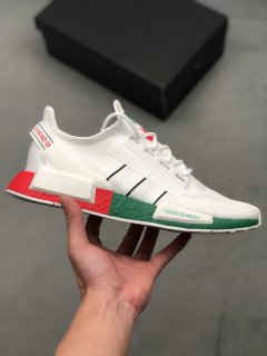 Adidas NMD R1 V2 Mexico City Trainers White Red Green