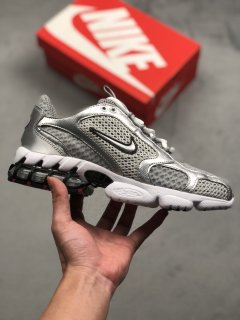 Nike Air Zoom Spiridon Cage 2 Light Smoke Trainers