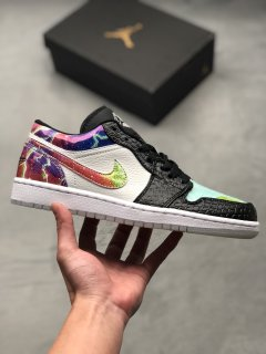 Nike Air Jordan 1 Low Galaxy Sneakers
