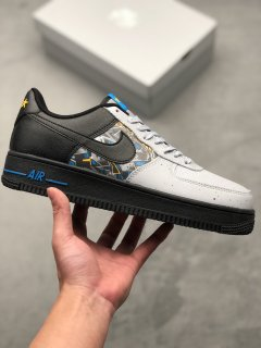 Nike Air Force 1 Low Black Wolf Grey Sneakers
