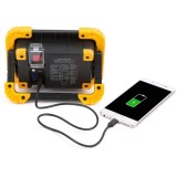1000 Lumen Cordless 2x18650 Lithium Battery Power Bank Portable Rechargeable COB LED Work Light-TopLite