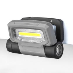 300 Lumen 3W Flashlight Magnet Work Light Warning Light TOP18095-TopLite