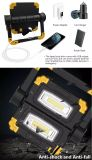 10W Rechargeable FOLDED Mulfi Function 850 Lumen COB LED Work light for Outdoor Camping Hiking and Car Repair Portable belong to tools Toplite