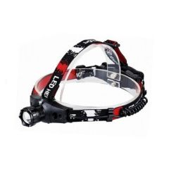 Aluminum Adjustable LED Headlamp for Camping Hiking AA Battery