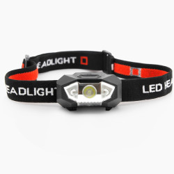 Portable LED Camping Hiking Headlamp Elastic Ribbon Headlight