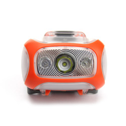 Portable LED Headlamp with Motion Sensor for Camping Climbing Hiking Running Hunting Reading, 3*AAA battery