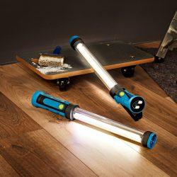 TopLite 20W 1100 Lumen Twins Rechargeable inspection Work Light lamp 2-Pack