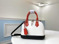 louis Vuitton/LV high quality replica crossbody top-handle bag in EPSON leather scratch-proof dusty-free