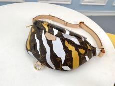 M45106 Louis Vuitton/LV Vxlol waist chest bag in camouflage monogram canvas perfect replica