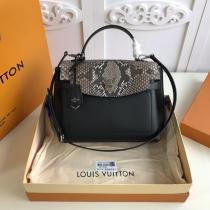 M51395 louis Vuitton/LV lockme ever handbag flap messenger bag multi-compartment large-capacity