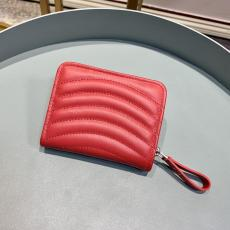 Louis Vuitton/LV quited zipper snap clamshell double-folding small wallet coin pouch multicolor for election